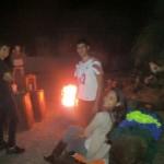 Quentando o Fogo Páscoa 2015 em família